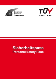 Cover SCC Personal Safety Logbook